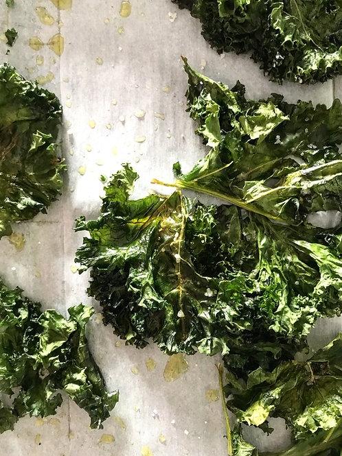 Cavolo Nero and Curly Kale with Pumpkin Seeds