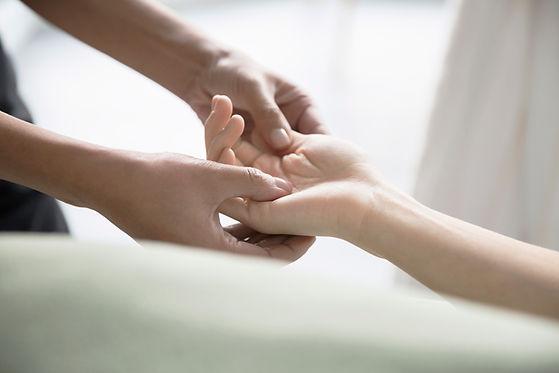 hånd massasje