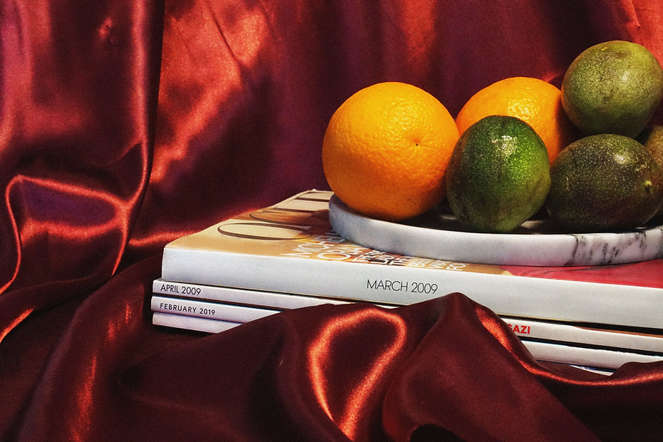 Fruits and Magazines