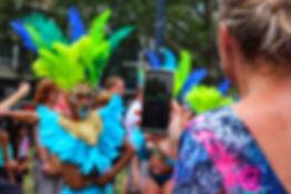 Celular Foto do Carnaval