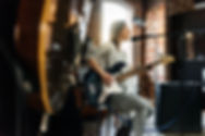 Female Singer and Bass Guitar