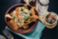 Plated Nachos_