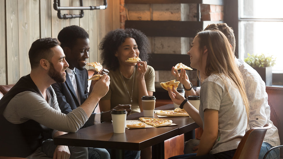Freunde & Pizza