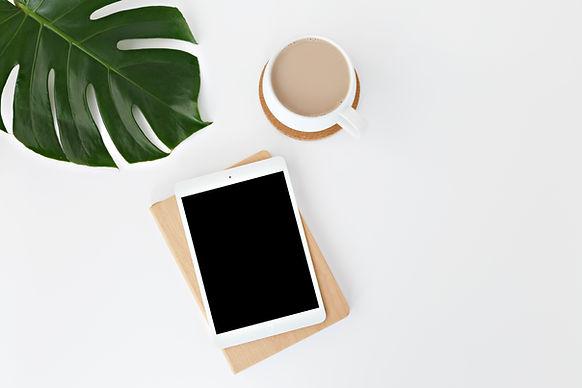 Tablet & Kaffe