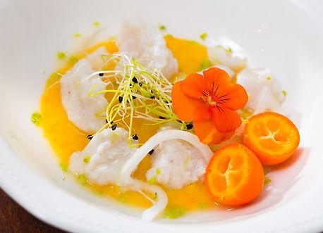 Ceviche de fruits de mer