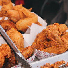 Golden Fried Chicken Wings