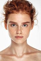 Tender Portrait of Model