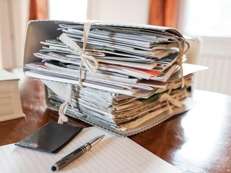 Paperwork! It's Folder Time