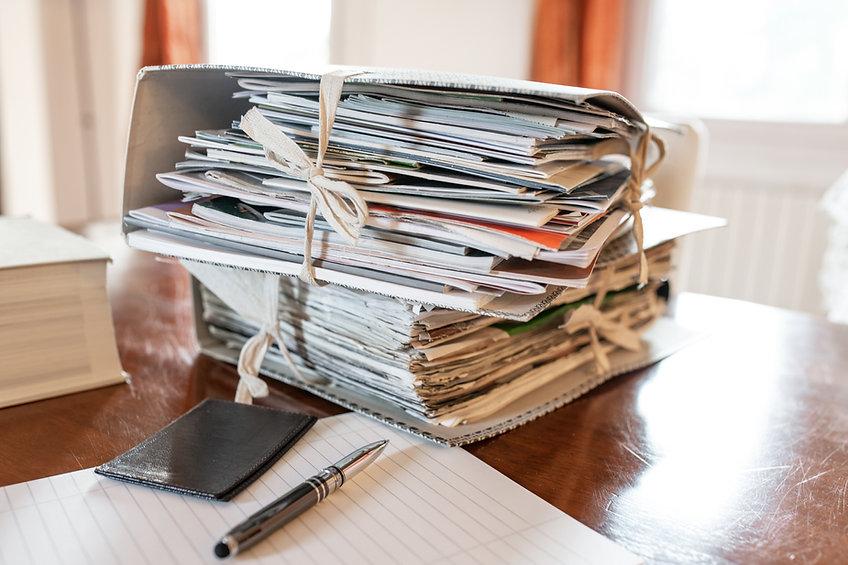 Pile de fichiers