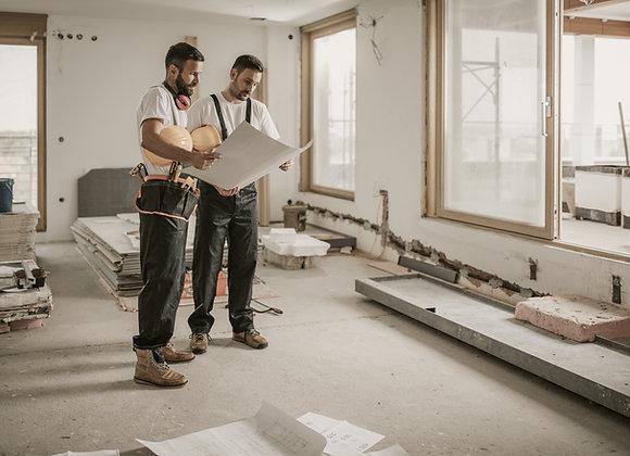 Ремонт и отделка квартир | финансовая модель бизнес плана