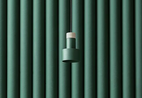 Metal Wooden Lamp