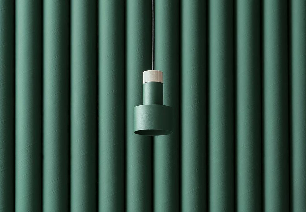 メタル木製ランプ