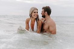 Couple in Sea