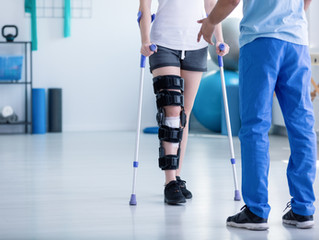 Knee Scooter Vs. Crutches