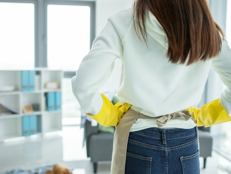 5 Everyday items to make cleaning your home that little bit easier..............