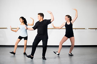 Youth Tap Dance Rehearsal