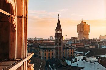 Vista su Milano