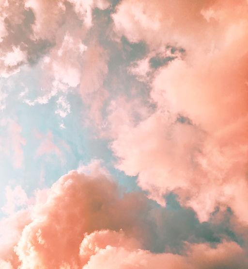 Orange moln