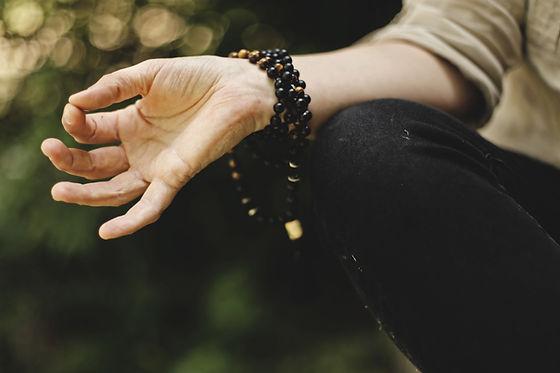 meditierend