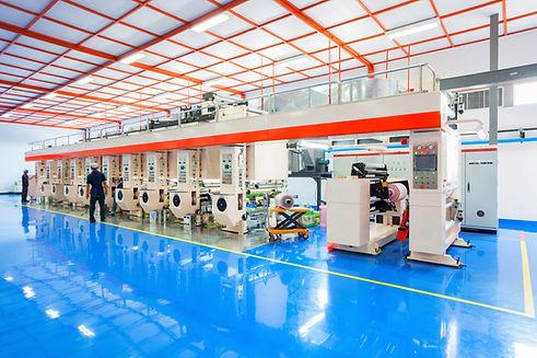 Impressão industrial