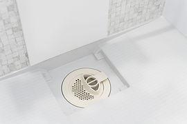 バスルームの排水溝