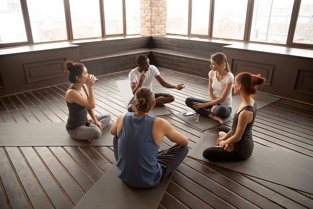 yoga télétravail
