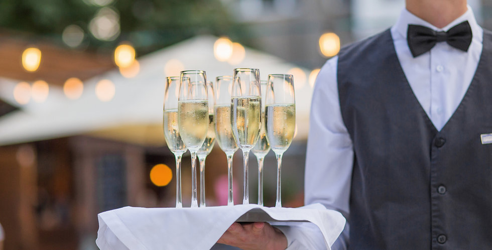 Wine & champagne beverage package / per person