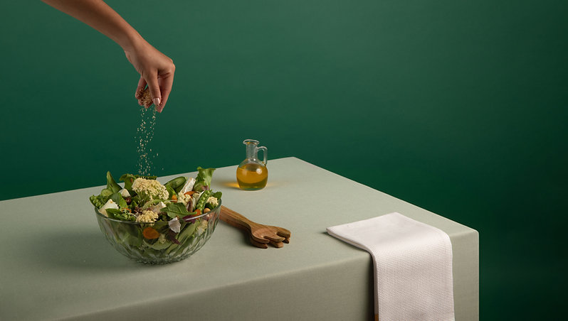 Salada tempero
