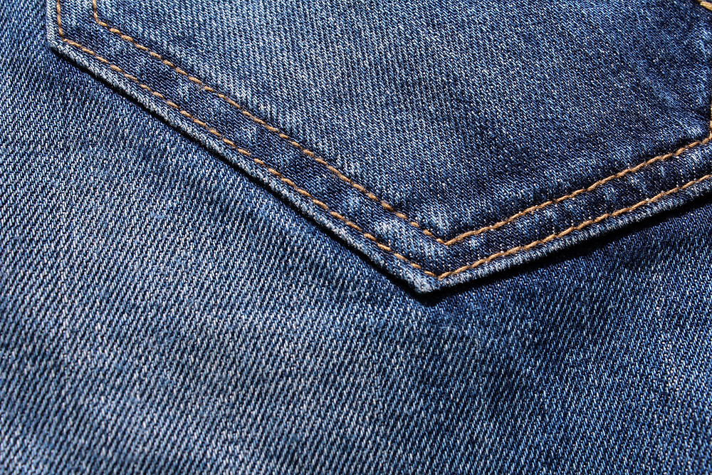Sustainable up-cycled jeans