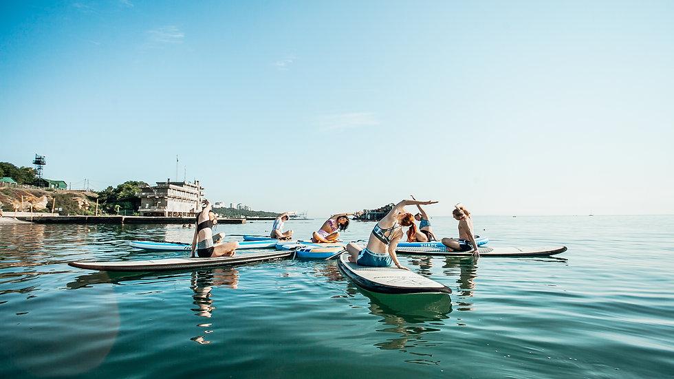SUP Kurs Mallorca - Stand Up Paddle entlang der Küste Palmas Mallorcas