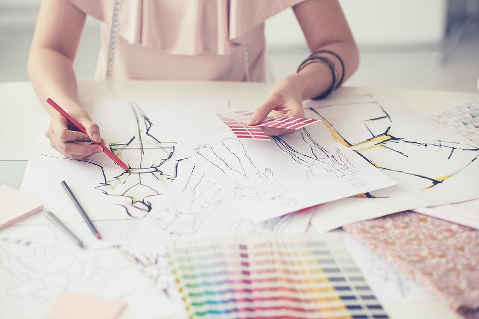 Fashion Illustrator CLOTHING MANUFACTURERS UK