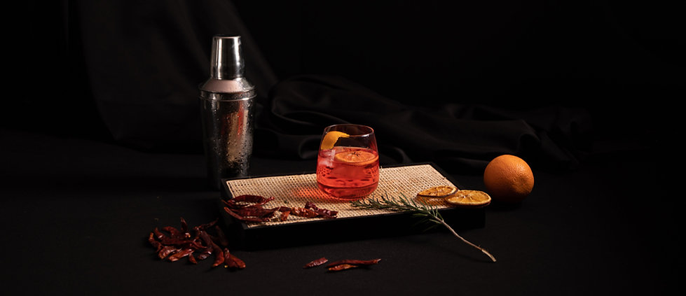 Orange and Spice Cocktail