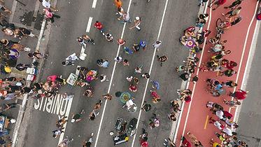 Pessoas na rua