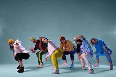 Groupe de danse moderne