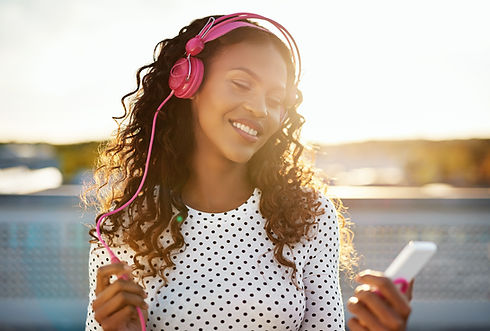 Listening to Music on Phone