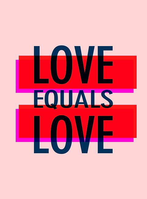 L'amour est égal à l'amour