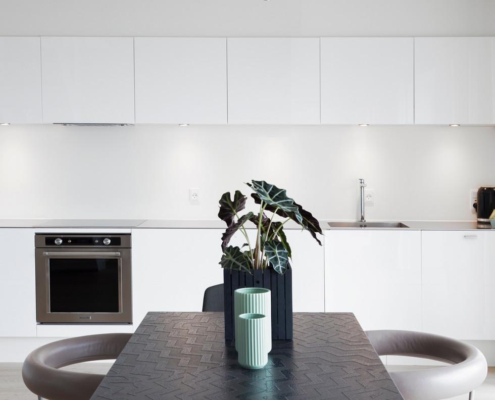 Mimimalistisches Küchen-Design