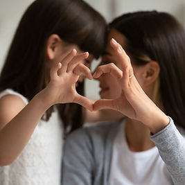 Mother and Daughter Love