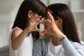 Amour mère et fille