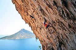 Climbers in Rock Wall