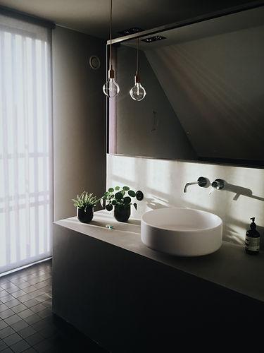 현대적인 욕실
