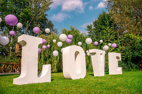 Love Wedding Decoration