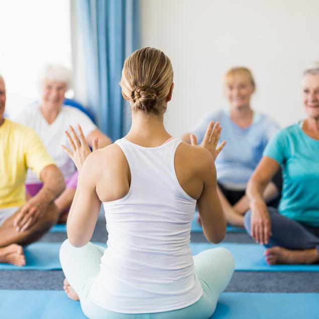 Senioren Yoga