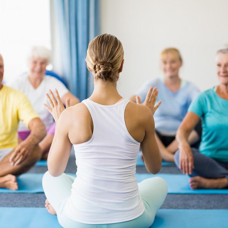 Yoga just for Seniors  - Online  Course for Teachers
