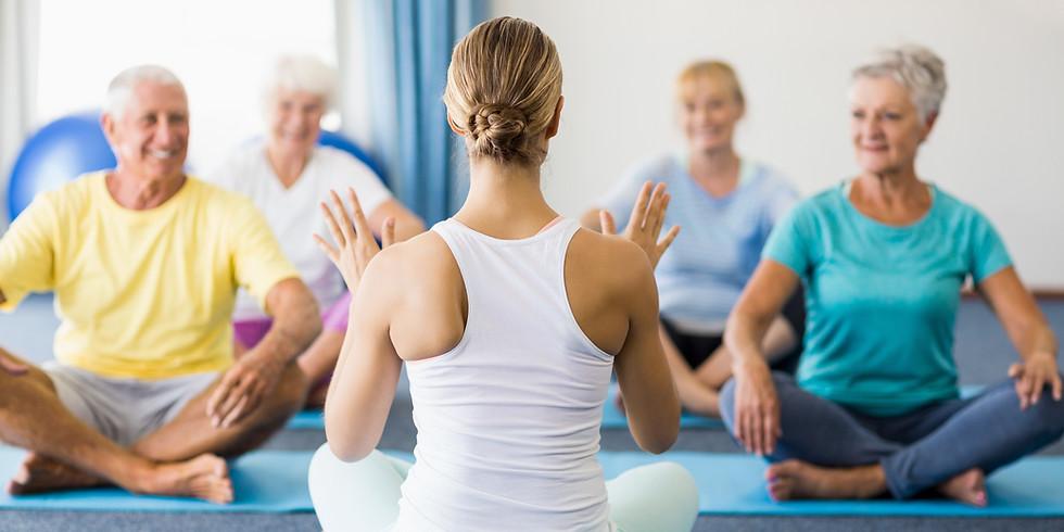 Zdravotní cvičení inspirované jógou