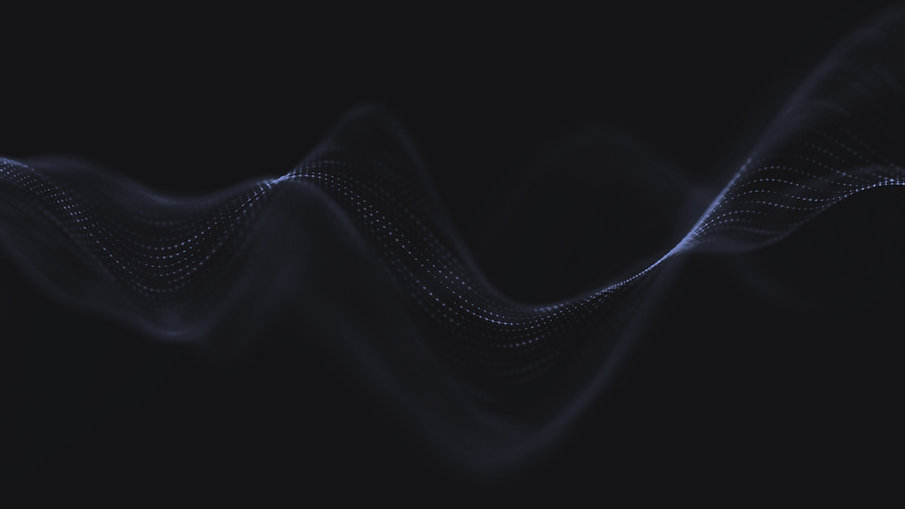 Synthetic data abstract background