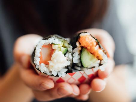 Sushi = Healthy Food?