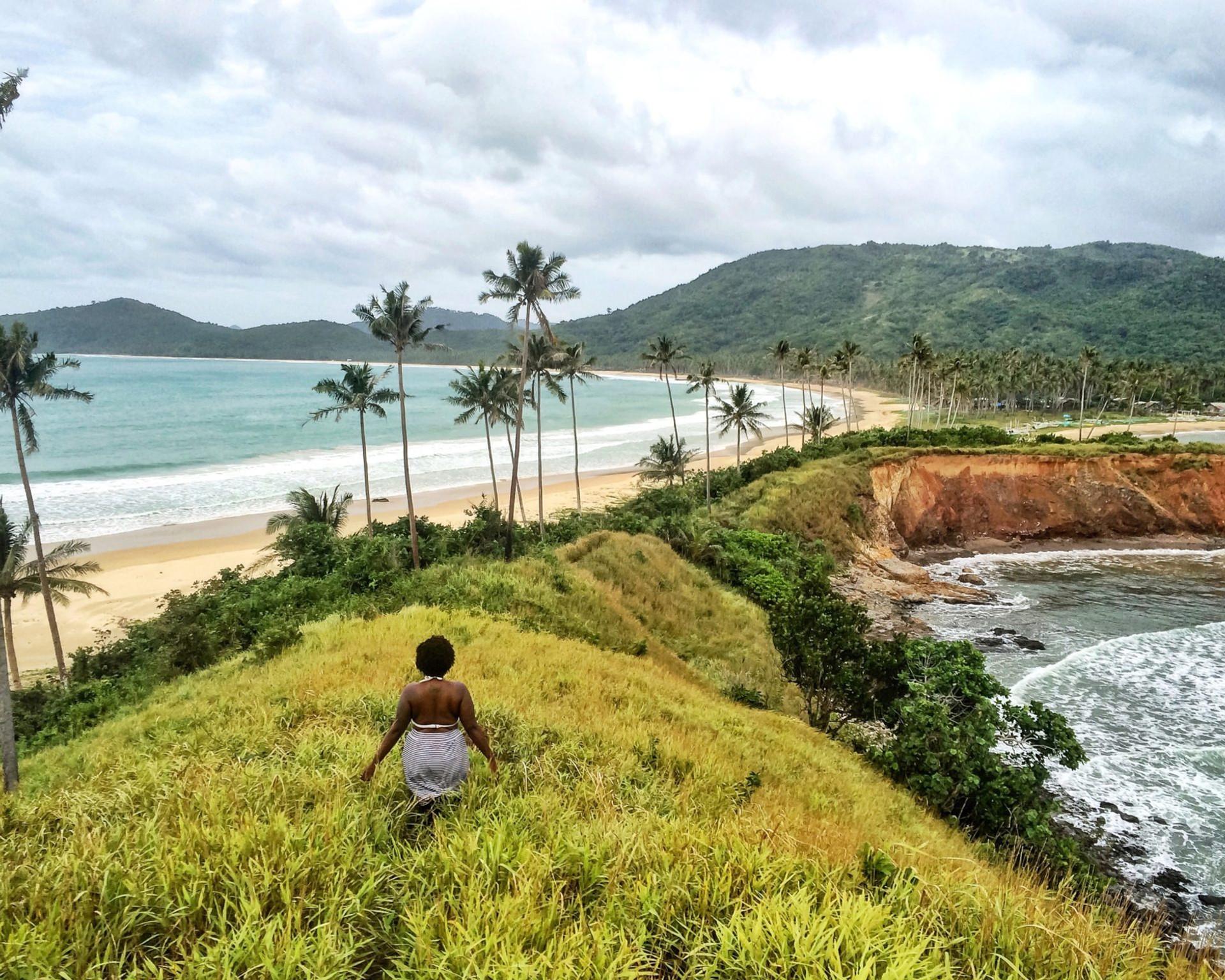 Beautiful nature on the island