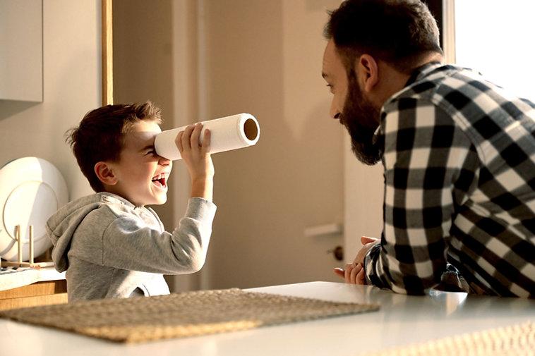 父と息子の演奏