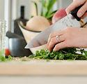 Chopping Coriander
